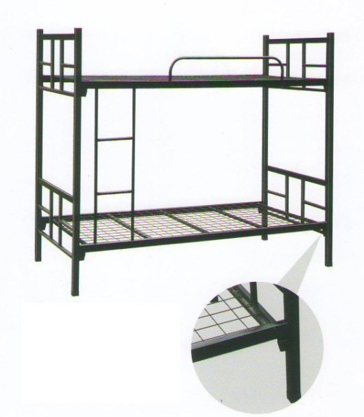 Modern Shool Furniture Steel Metal Bunk Dormitory Bed (HX-ST181)