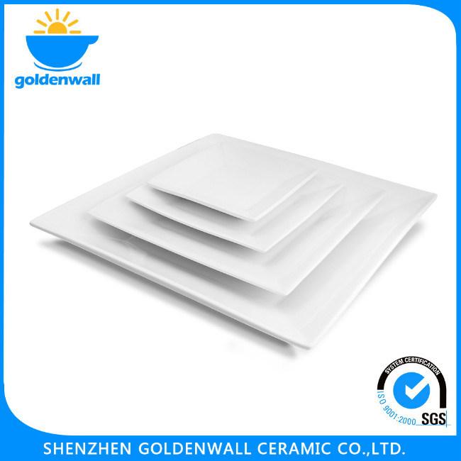 Customize Square Ceramic Flat Plate