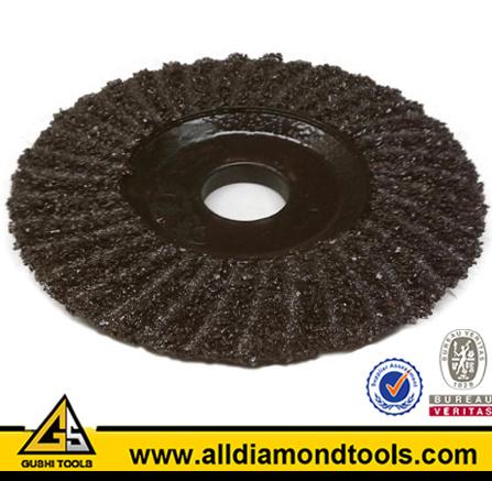 Plastic Backing Grinding Disc Wheel for Concrete, etc