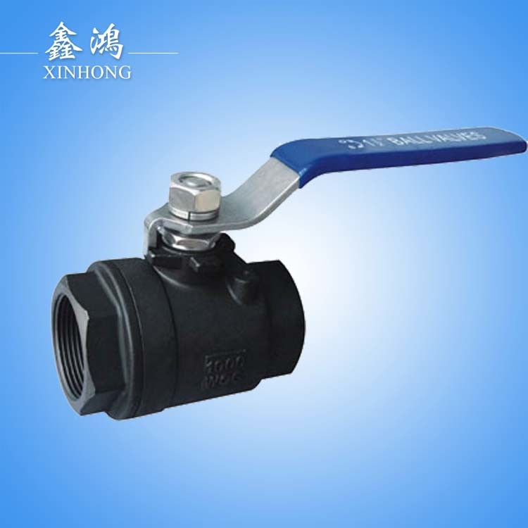 Wcb 2PC Ball Valve Dn15 Hight Temperature