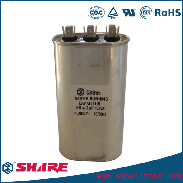 Air Conditioner Spare Parts Capacitor 220V 240V 370V 450V 480V Capacitor