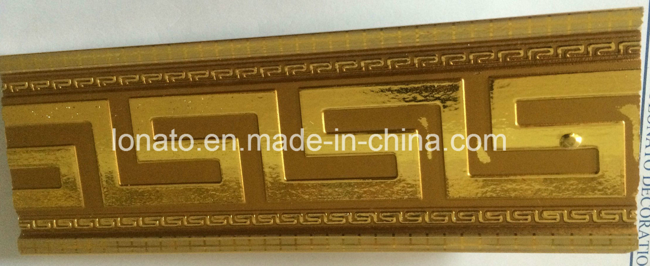 Hot Stamping Foil PS Cornice for Interior Home Decoration