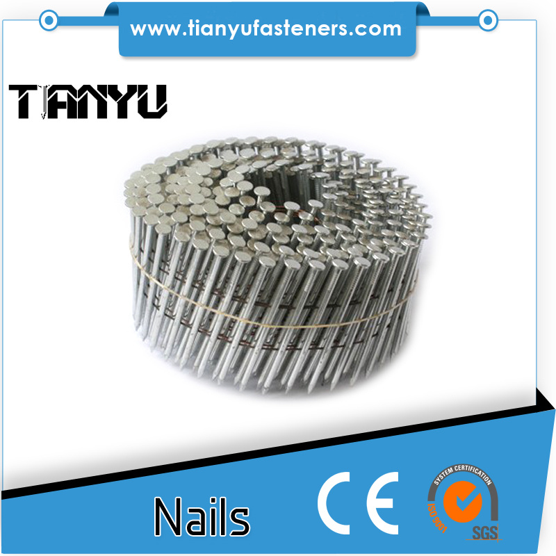 15 Degree Coil Wire Steel Nails