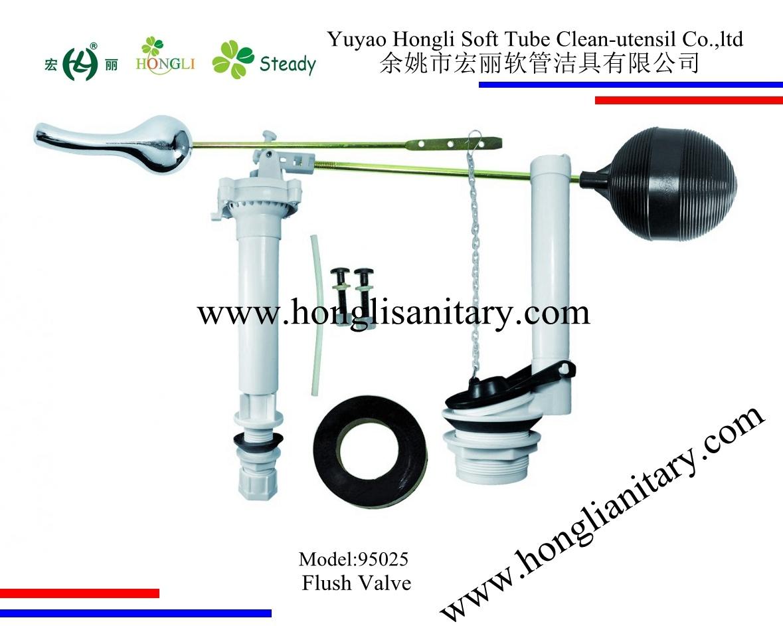 95025 South America ABS Plastic Toilet Flush Valve
