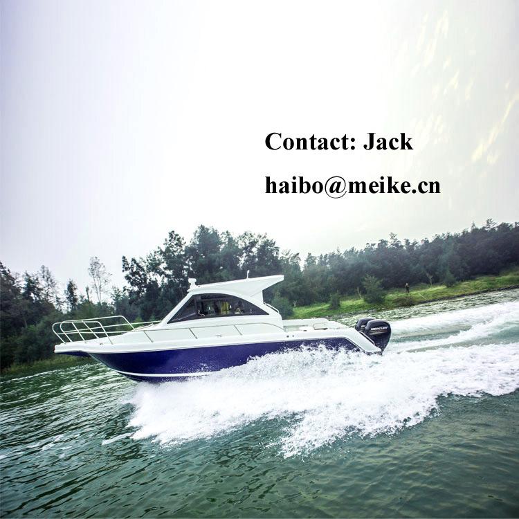 30′ Fiberglass American Family Leisure Fishing Boat Hangtong Factory-Direct