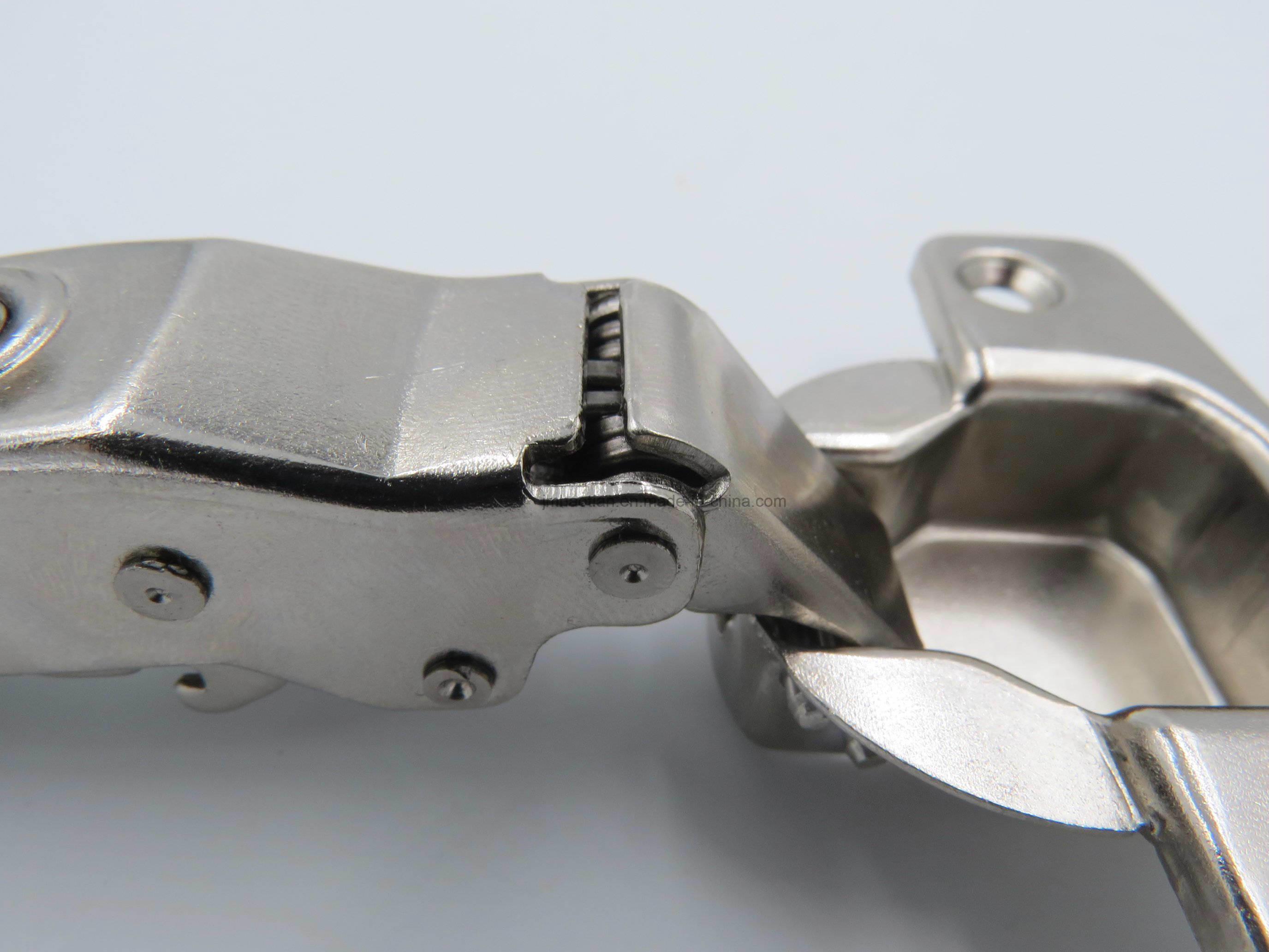 105 Degree Concealed Hinge 3D Adjustment Soft Closing Clip-on Cabinet Hinge