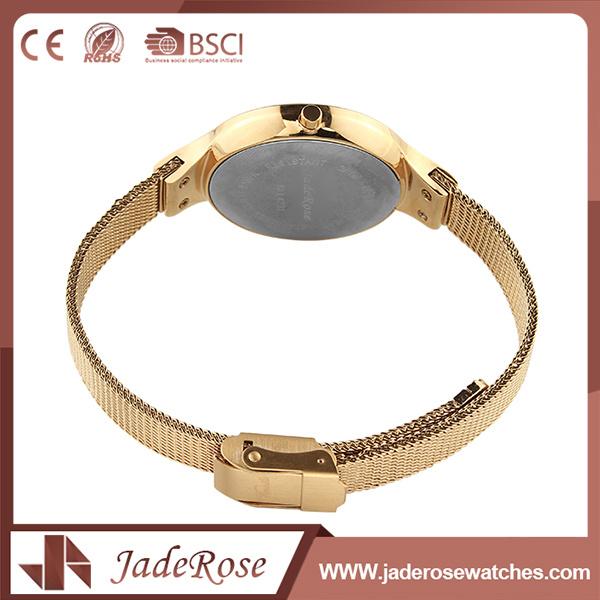 Ladies Mineral Glass Stainless Steel Elegance Quartz Watch