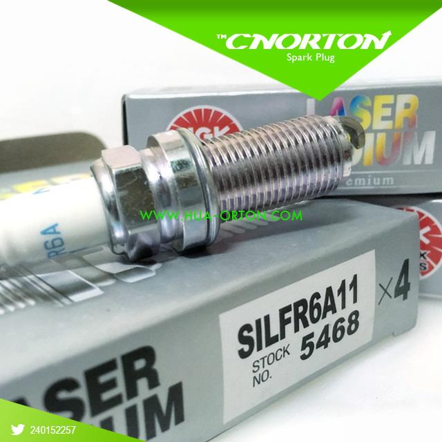 Iridium Power Spark Plug for Subaru Ngk Silfr6a11 5468