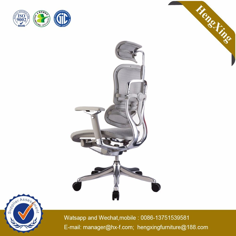 Aluminium Base Adjustable Arms Ergonomic Executive Mesh Chair (HX-MC011)