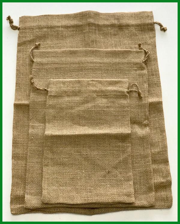 Natural Burlap Rice Bag