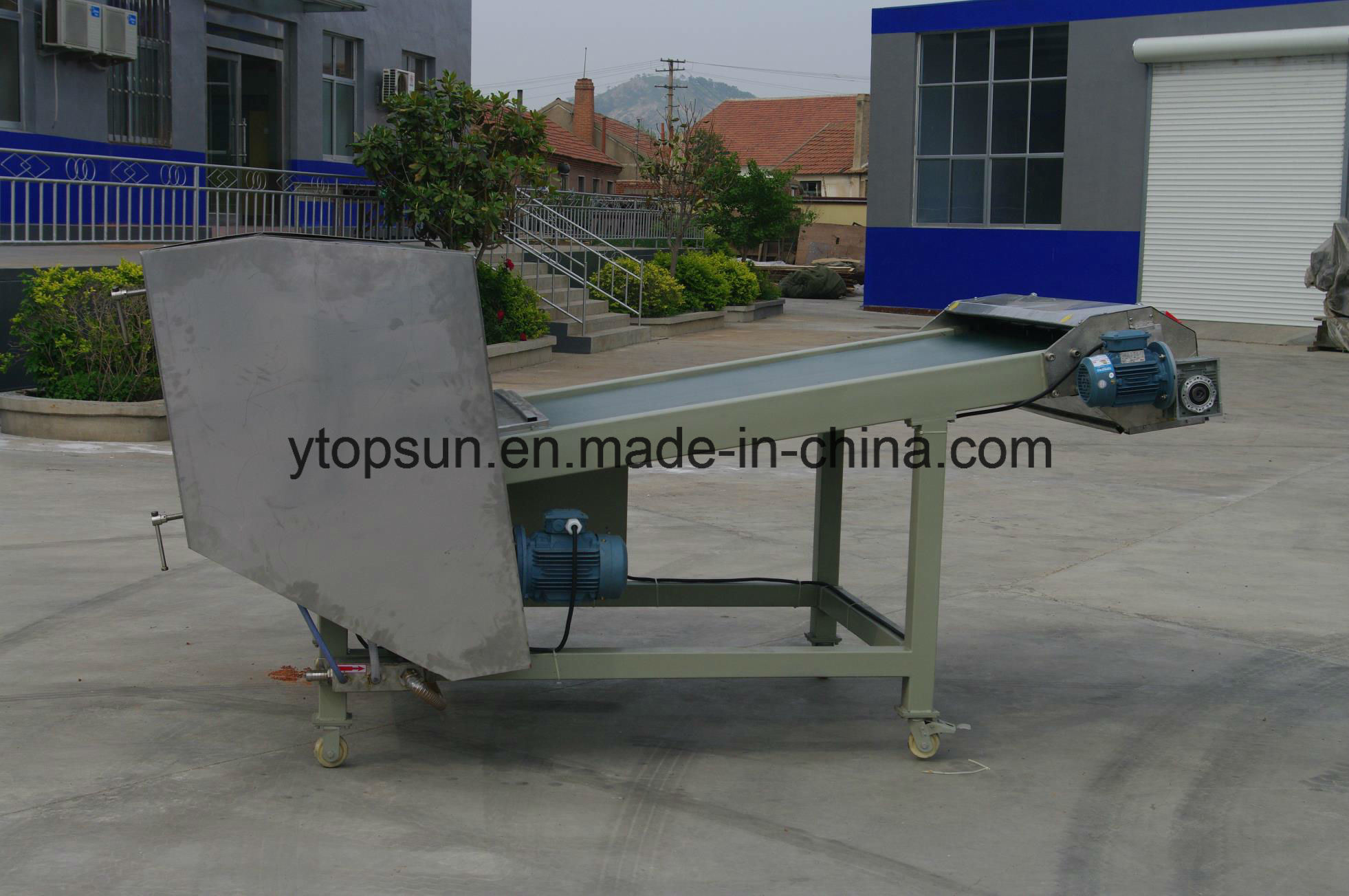 Powder Coating/Paint Production/Producing/Manufacturing/Making Air/Water Cooled Cooling Belt