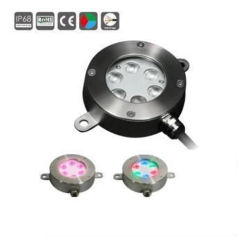 18W IP68 LED Underwater Fountain Lamp and Projector