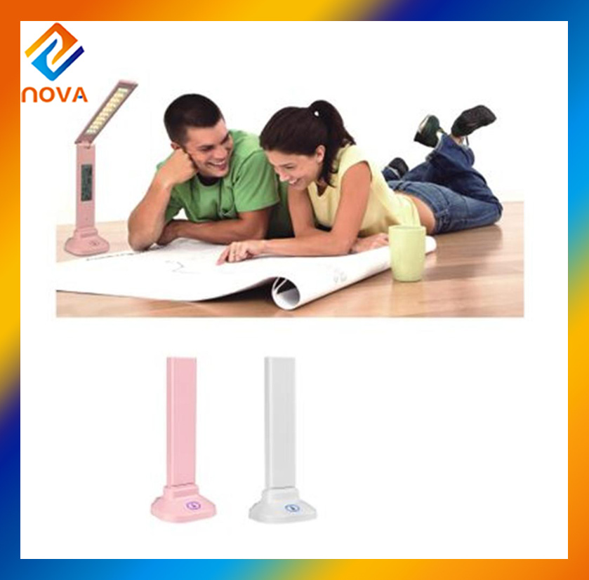 7W Desk Light with Touch Sliding Dimmer & Calendar Table Lamp