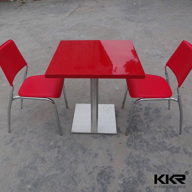 2 Person Customzied Home furniture Modern Dining Table