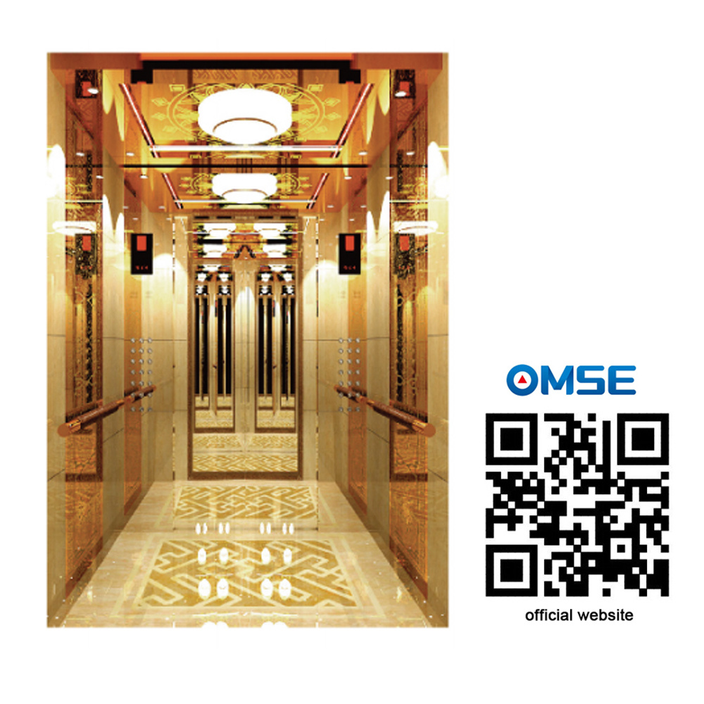 Luxury Passenger Elevator with Good Decoration