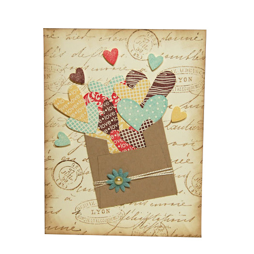 New Design Custom Gift Paper Greeting Card