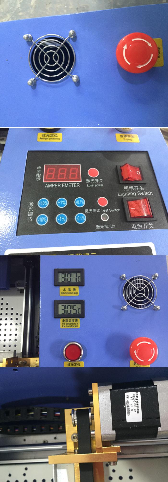 40W 50W CO2 Mini Acrylic Laser Engraving Machine