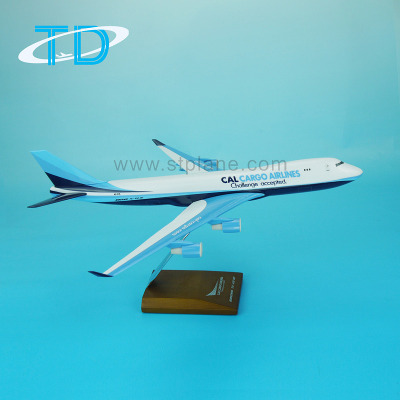 Resin Cargo Airplane B747-400f 1: 200 Model Toy