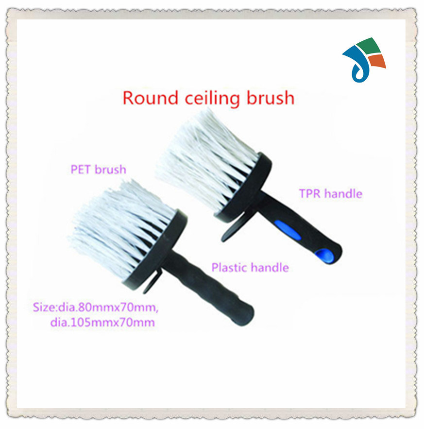 Plastic Handle Pet Brush Round Ceiling Brush
