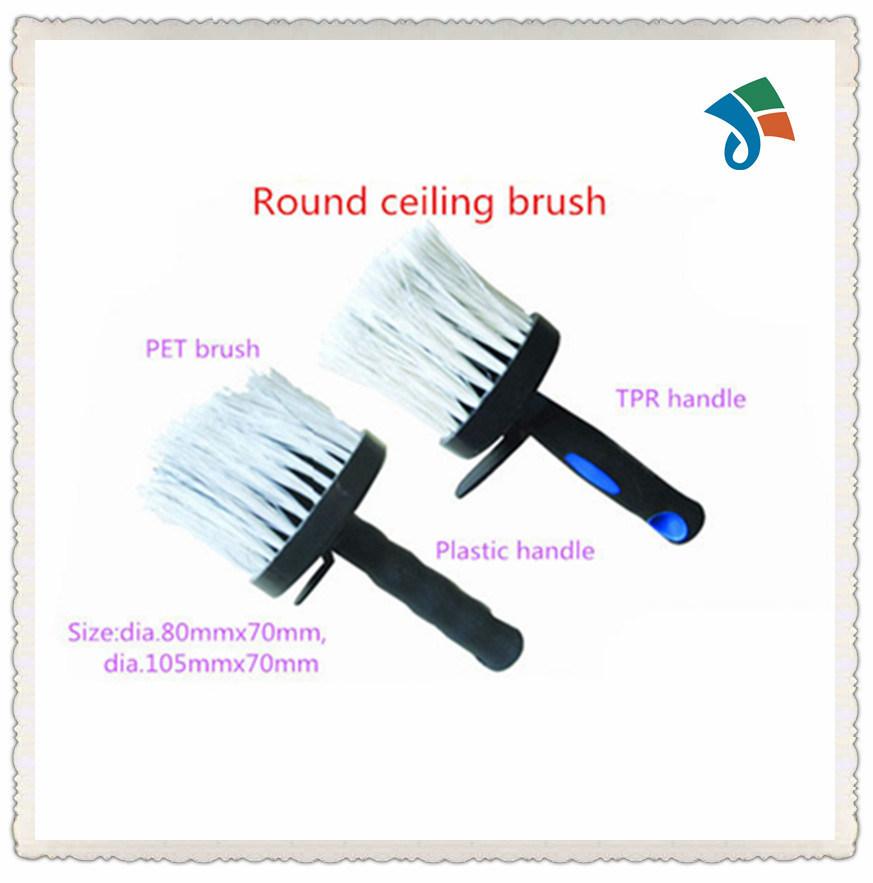 Plastic Handle Pet Brush Round Ceiling Brush