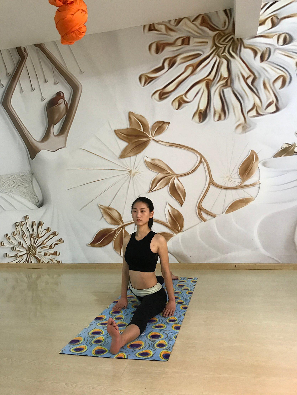 Eco Friendly Full Colour Custom Printed Yoga Mats