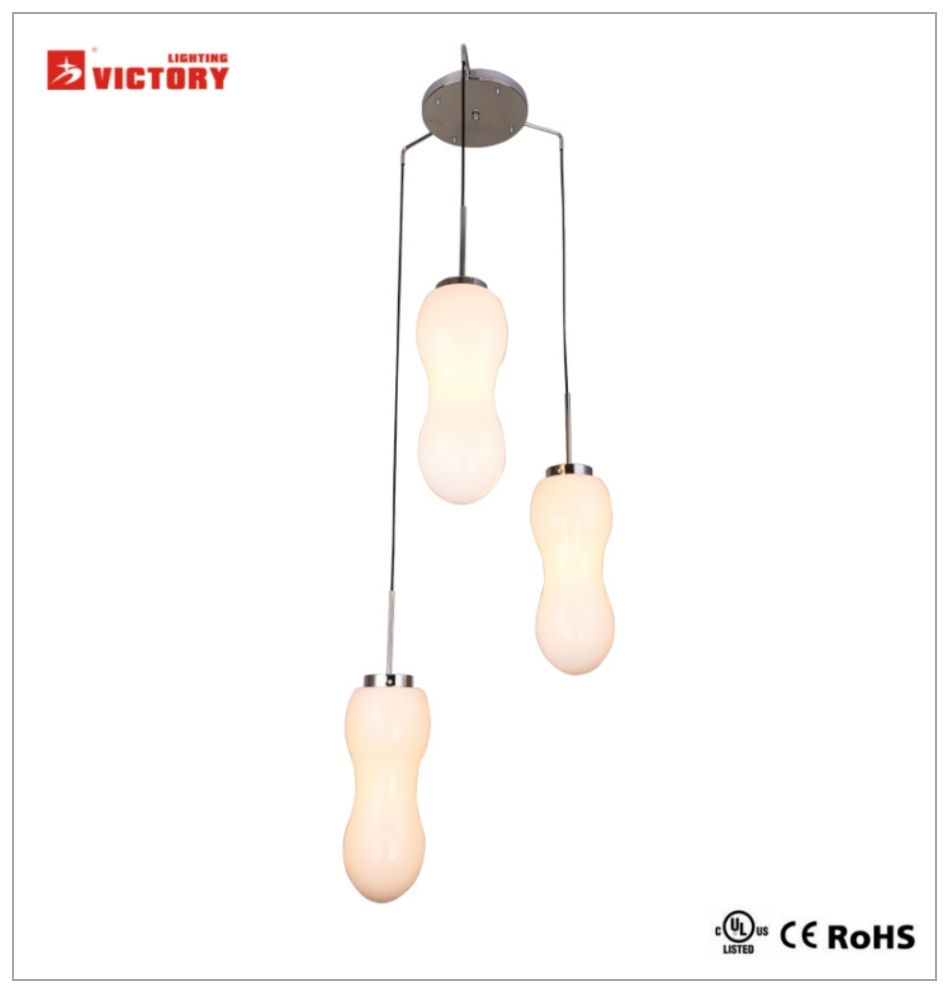 Modern Style Pendant Lamp Hanging LED Chandelier Light with Waterproof