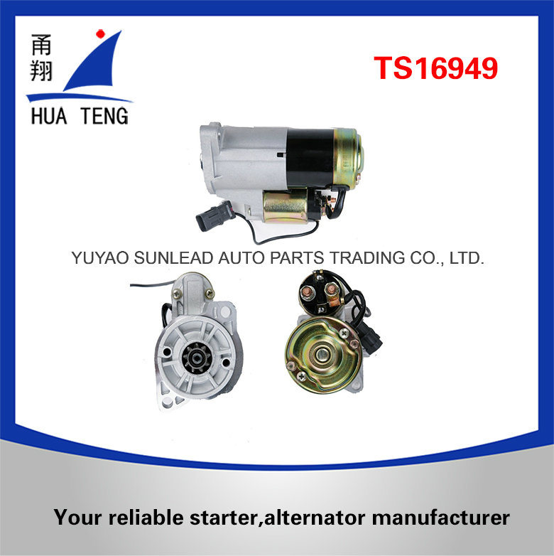Starter Motor for Mitsubishi Nissan with 12V 1.4kw 17425