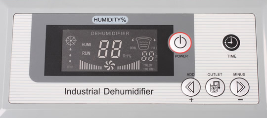 150L / Day 220V Commercial Dehumidifier Ol-1503e