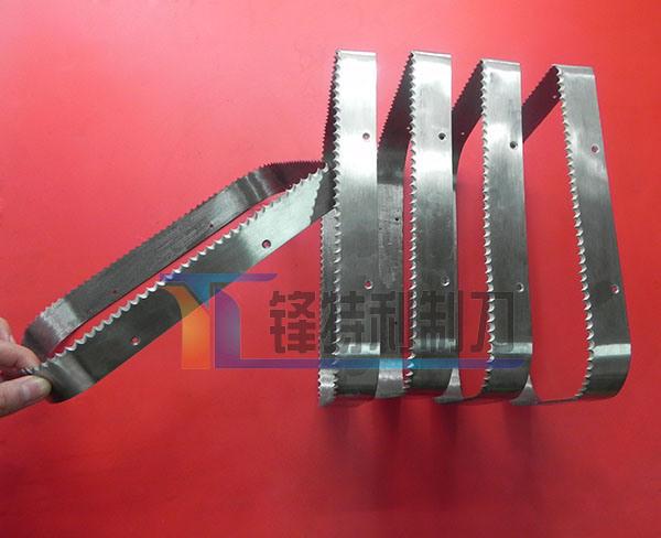 Bending Tooth Packaging Blade Food Machine Forming Blade