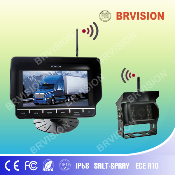 Magnetic Mount Rear View Camera, 2.4G Digital Signal Rear View Camera