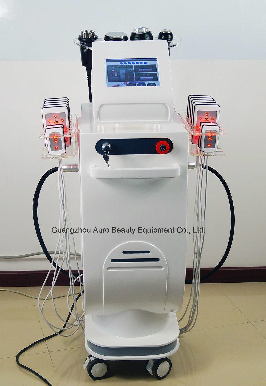 Salon Use Lipo Laser Vacuum Massage Body Slimming Machine