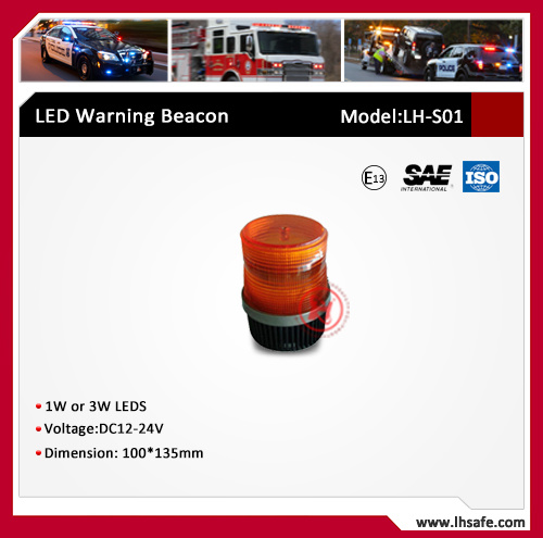 Strobe LED Beacon for Tractor Trailer Lights (LH-S01)