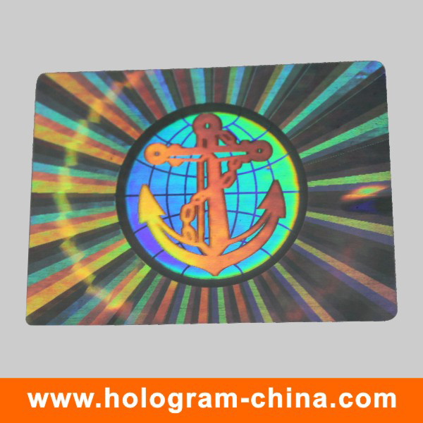 Anti-Counterfeiting Security Hologram Sticker Label