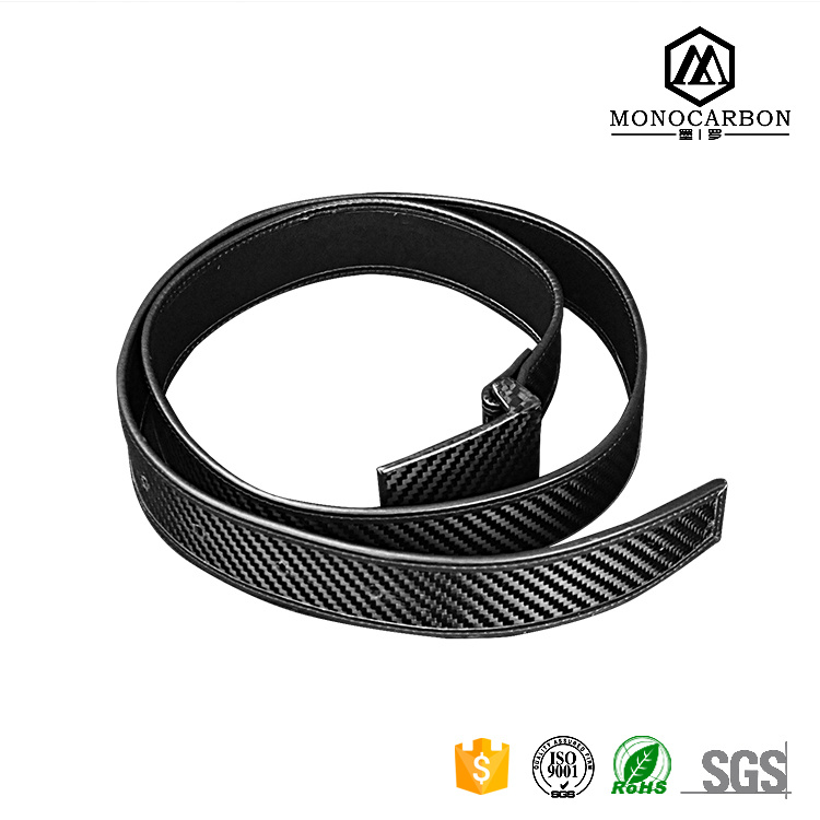Fashion Accessories Real Carbon Fiber Men′s Webbing Belt