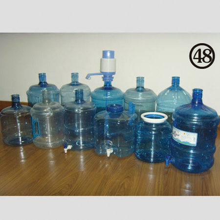 Semi Automatic 20L Pet Bottle Plastic Stretch Blow Molding Machine Price