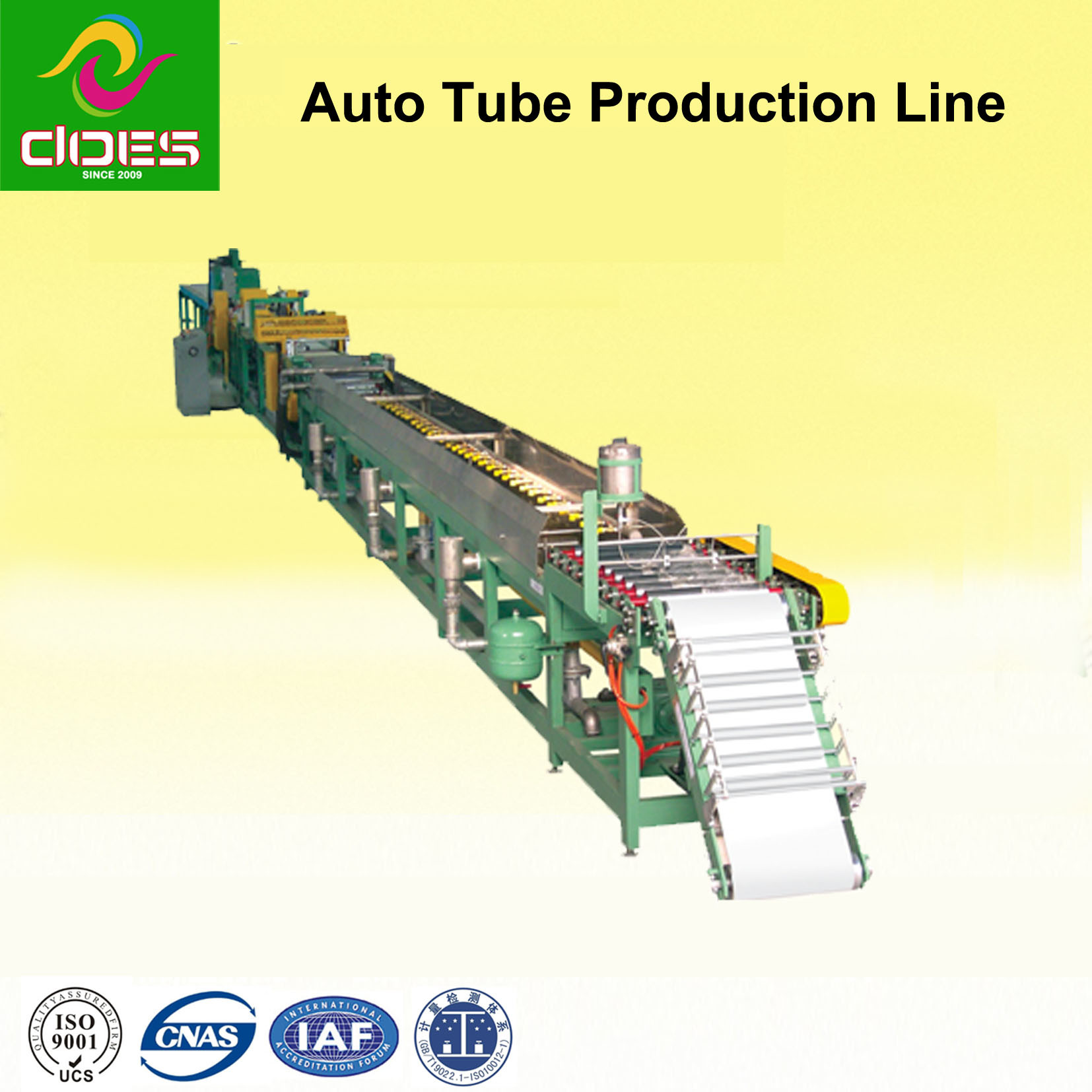 Automatic Production Machine for Valve Rubber Inner Tube