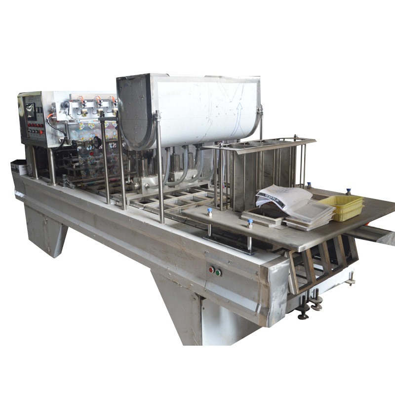 Food Sanitary Mineral Water Cup Filling and Sealing Machine
