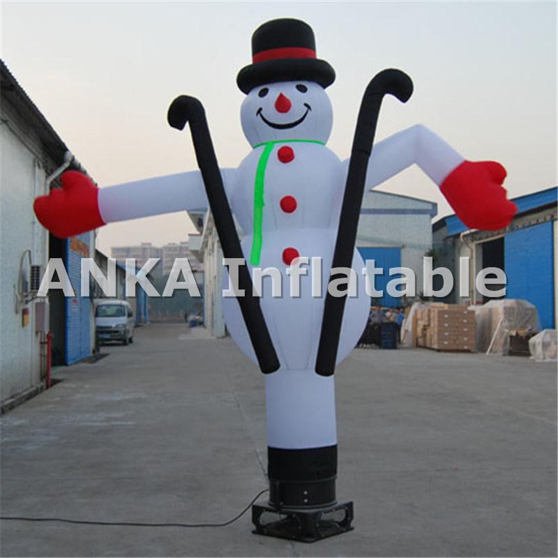 Outdoor Advertising Inflatable Sky Dancer Guitar Air Dancer