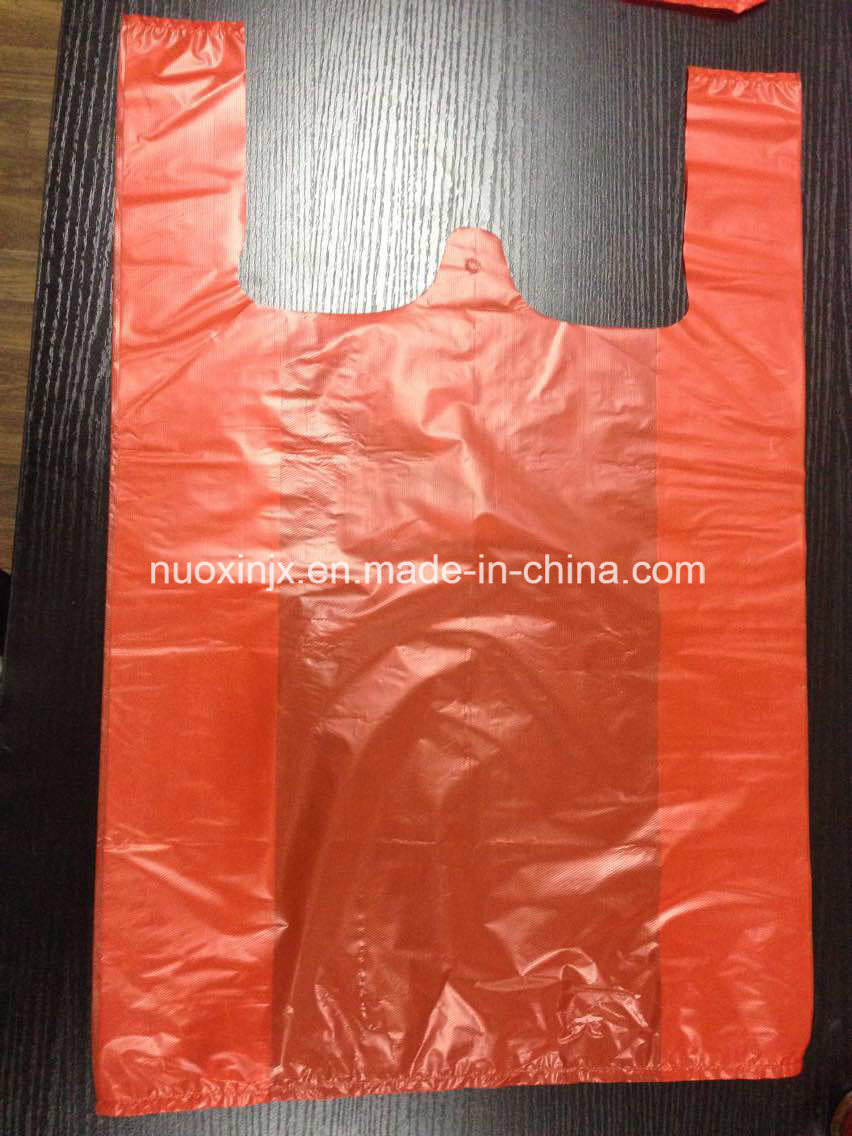 Hot Sealing Cold Cutting T-Shirt Bag Making Machine (NuoXin)