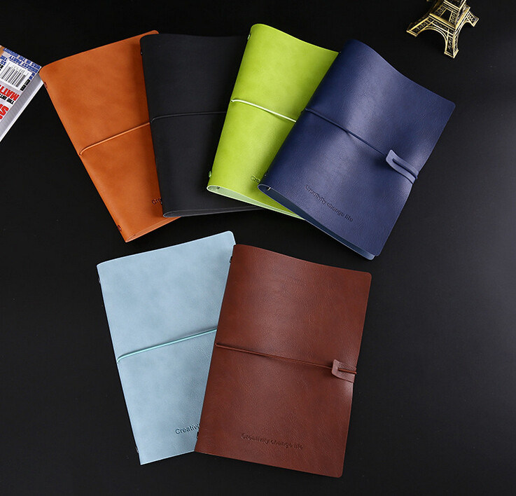 Soft Leather Cover Filofax Diary with Embossed Logo