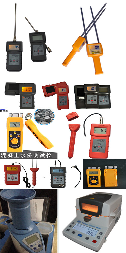 Hot Sale Wall Moisture Meter, Floor Moisture Tester, Concrete Moisture Meter for Measure Moisture of Wall Concrete, Marble