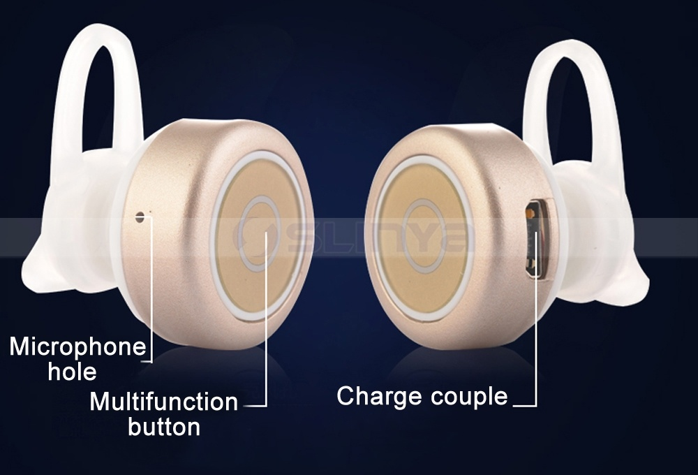 Hi-End Super Mini Wireless Hidden Invisible Bluetooth Earphone for Samsung S6 S7 Edge iPhone 6s Plus
