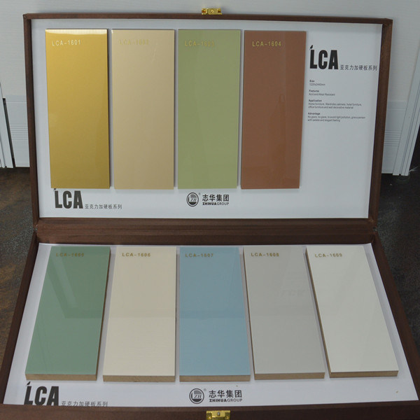 New Arrival 2016 Scratch Proof Acrylic MDF for Kitchen Cabinet Door (LCA-1601)