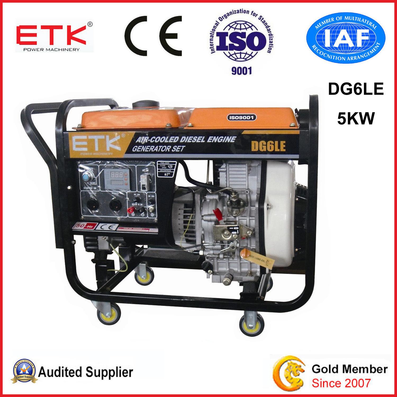 China a Low Fuel Consumption Diesel Generator DG6LE B s