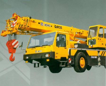 XCMG Original Manufacturer Qay25 25ton Mini All Terrain Crane