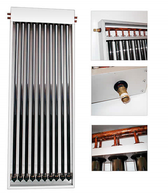 U-Pipe Vacuum Tube High Pressure Compact Solar Collector