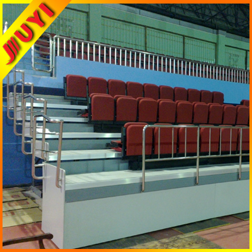 Jy-768 Fabric Collapsible Hot Selling Outdoor Aluminum 2015 Best Portable Platform Chairs Stadium Seats Retractable Bleacher