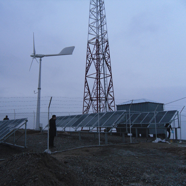 Anhua Pitch Controlled Wind Turbine Solar Energy Hybrid System Supply Power for Bts Station