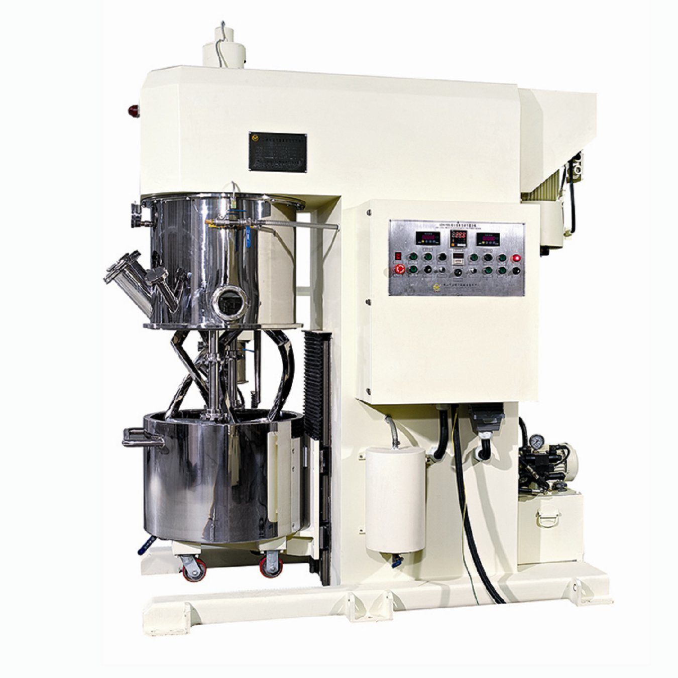 Lithium Battery 300 Lwith Disperser Double Planetary Mixer for Li-Battery Pole Piece Production
