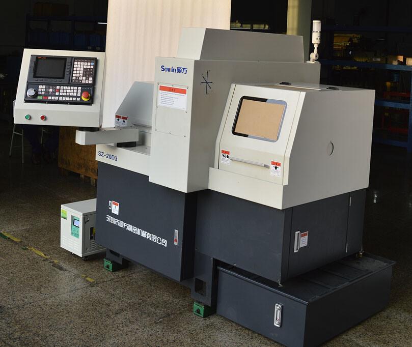 Swiss Type CNC Automatic Lathe Machine